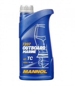 Mannol 7207 2-Takt Outboard Marine