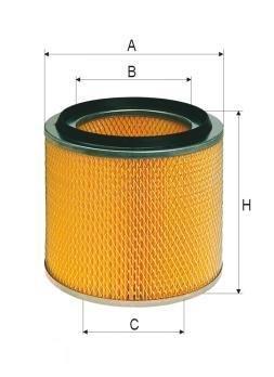 ASSO AB-1103 (C17225/3) Gaisa filtrs