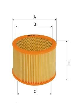 ASSO AB-1156 (C18121) gaisa filtrs