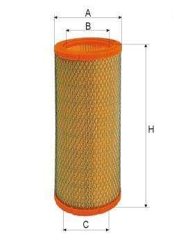ASSO AB-1188 (C1394/1) Gaisa filtrs