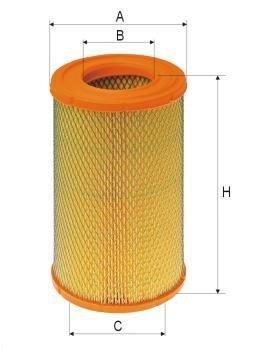 ASSO AB-1198 (C17278) Gaisa filtrs
