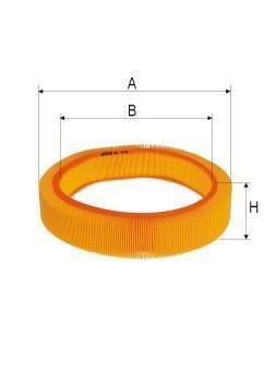 ASSO AB-1328 (C41173) Gaisa filtrs