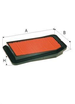 ASSO AB-1426 (C2138/3) Gaisa filtrs