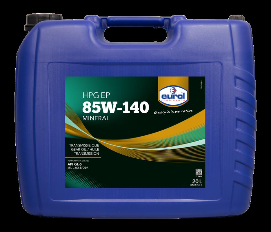 Eurol HPG EP 85W140 GL5 20L