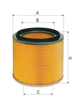 ASSO AB-1075 (C13114/4) Gaisa filtrs