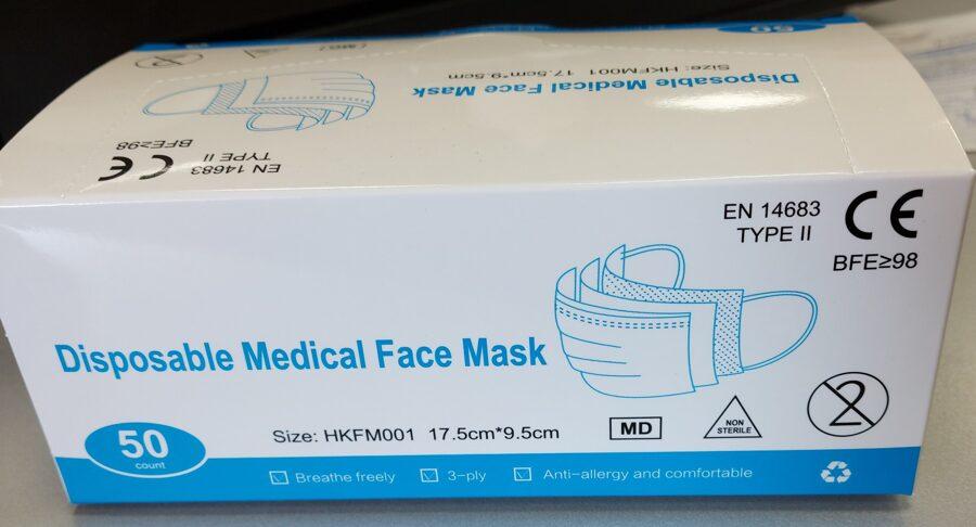 Medicīniskā sejas maska