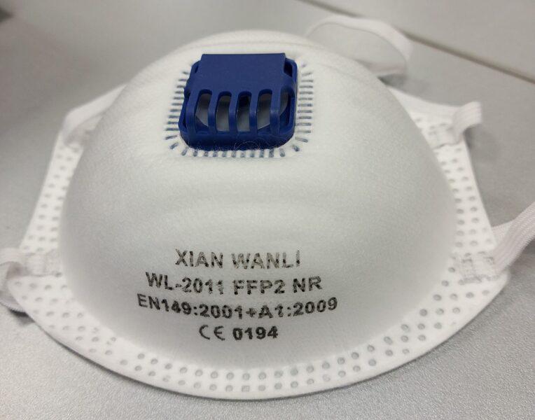 Respirators FFP2 ar vārstu